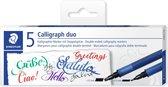 Calligraphy marker set 5 kleuren