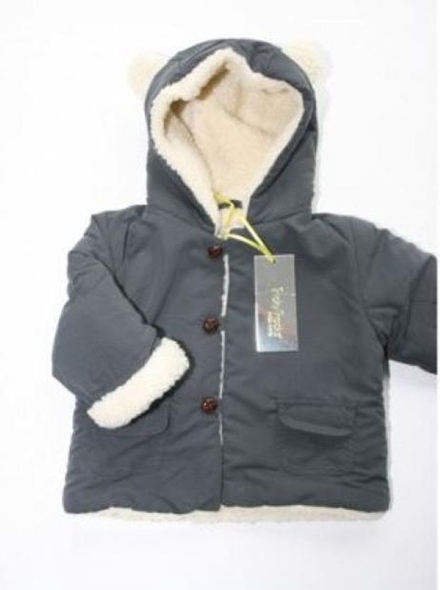| Baby winterjas grijs maat 74