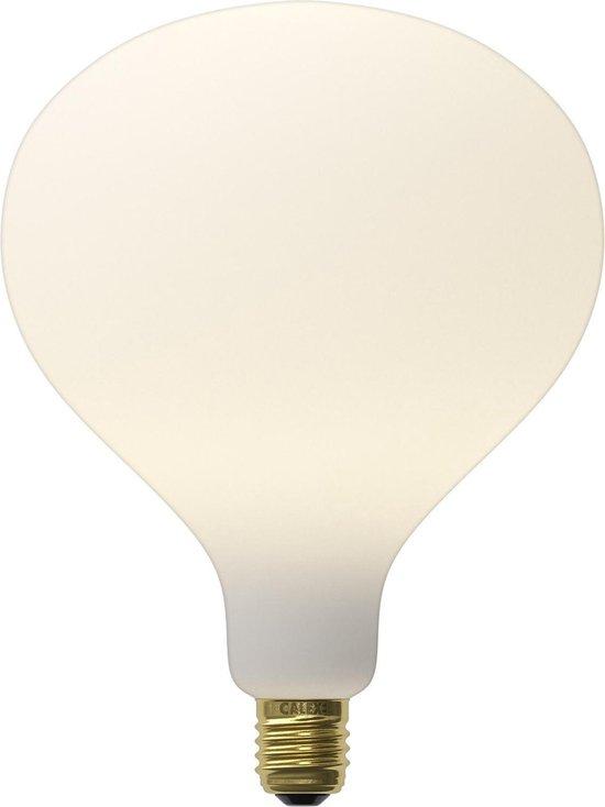 Calex Arctic Kulma - Mat wit - led lamp - Ø160mm - Dimbaar