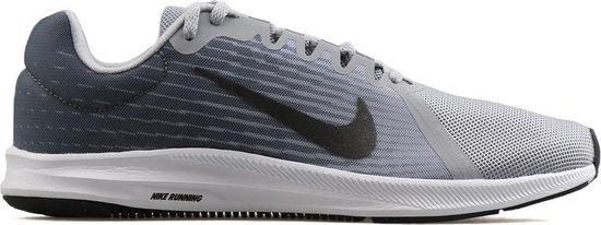 Nike Downshifter 8 Heren hardloopschoen Grijs Maat 40,5