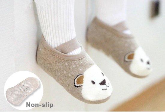 Product: Hiden | Baby Anti-slip Sokjes - Pantoffels - Baby & Verzorging - 1-3 jaar | Beertje, van het merk Hiden