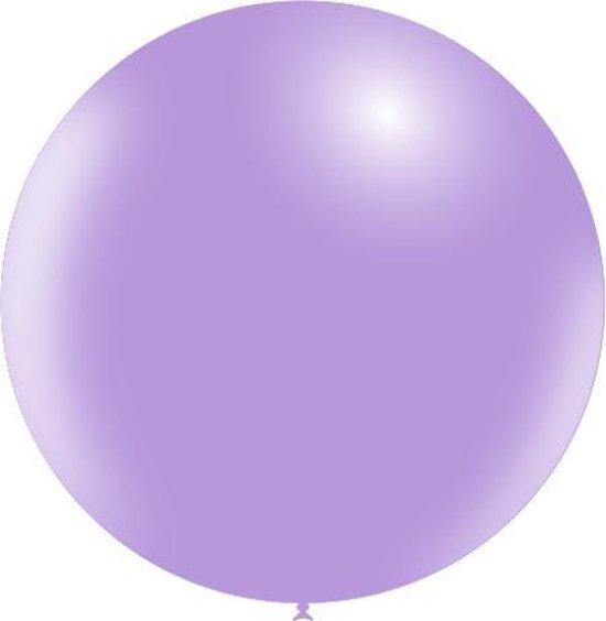 Lila Reuze Ballon XL 91cm