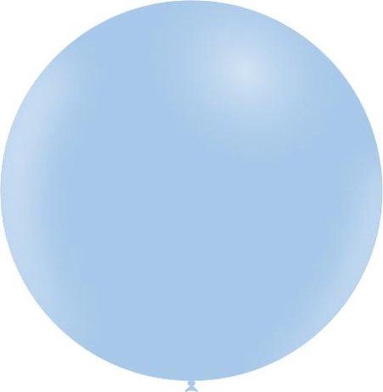 Lichtblauwe Reuze Ballon Pastel XL 91cm