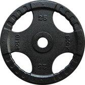 Body-Solid Olympische gietijzeren halterschijven 50 mm OPTK - 25 KG