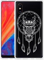 Xiaomi Mi Mix 2S Hoesje Dream Owl Mandala White