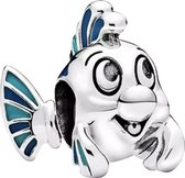 Zilveren Bedels Disney | Bedel Botje | Uit de Kleine Zeemeermin | 925 Sterling Zilver | Bedels Charms Beads | Past altijd op je Pandora armband | Direct snel leverbaar | Miss Charming