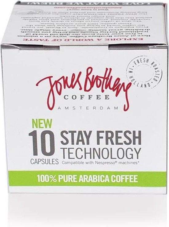 Jones Brothers Coffee Gigolo koffiecups - 12 x 10 cups - Jones Brothers Coffee