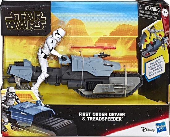 Afbeelding van het spel Star Wars E9 First Order Driver en Treadspeeder
