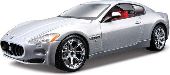 Bburago Maserati Gran Turismo 2008 1:24 zilver