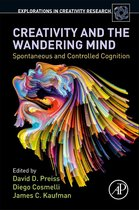 Boek cover Creativity and the Wandering Mind van David Preiss (Paperback)
