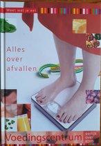 Boek cover Alles over afvallen van Voedingscentrum