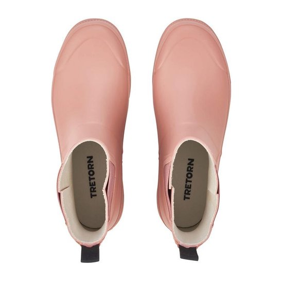 Tretorn Eva Låg Boots Dames Regenlaarzen - Maat 37 Vrouwen Dusty Pink LoyACC