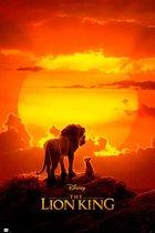 The Lion King poster Simba Disney film 61x91.5cm.