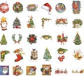 Kerst Deco stickers 60 stuks - Kerststickers - Christmas sticker