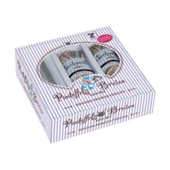 Pantoffels breien boek-box - Onbekend |