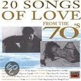 20 Songs of Love from the 70's