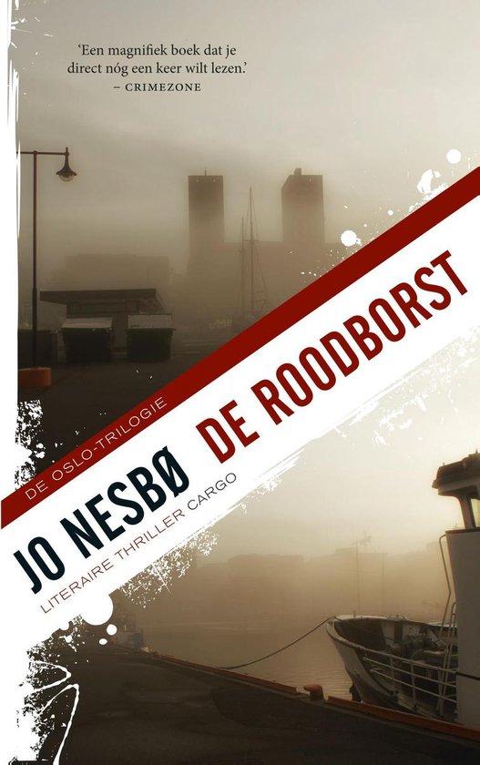 Boek cover De roodborst van Jo NesbØ (Onbekend)