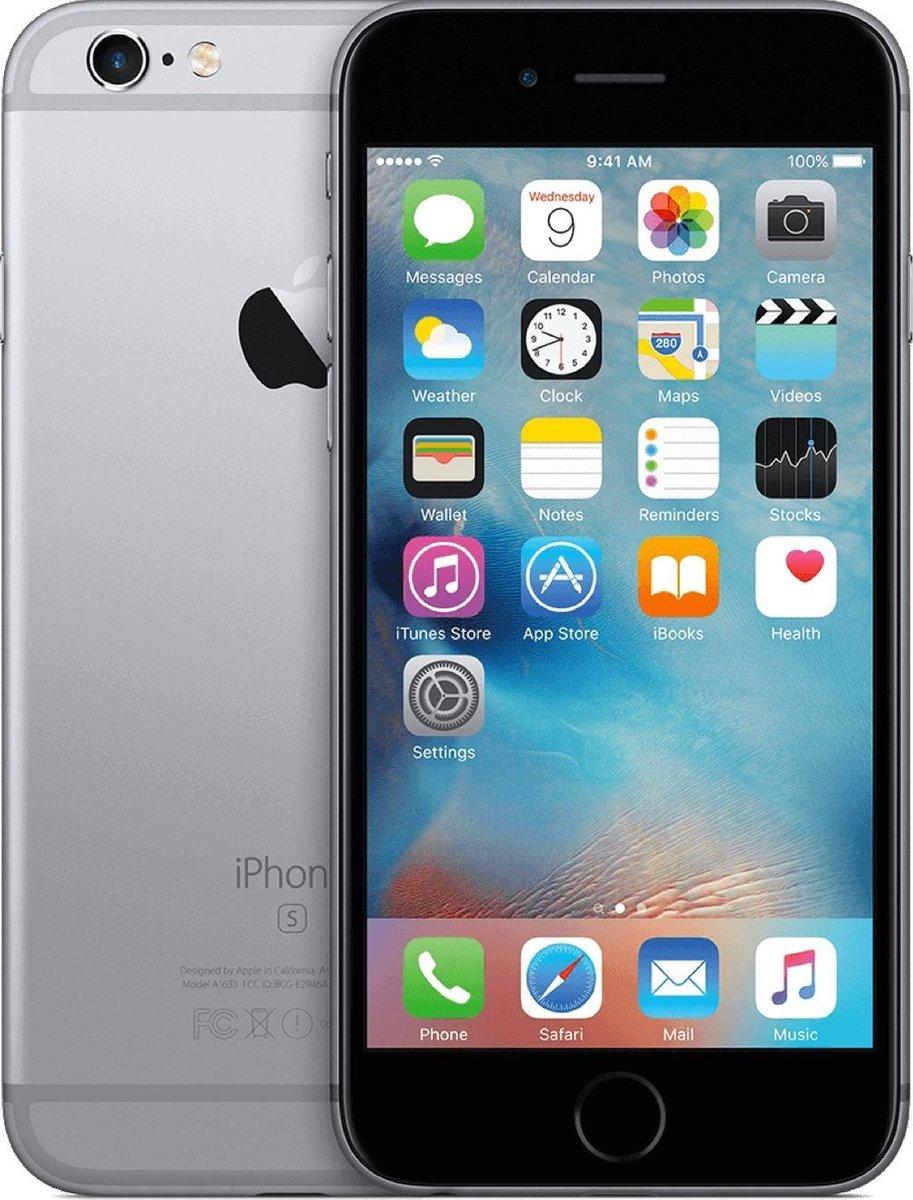 Apple iPhone 6s - Refurbished door Forza - C grade (Zichtbare gebruikssporen) - 16GB - Spacegrijs