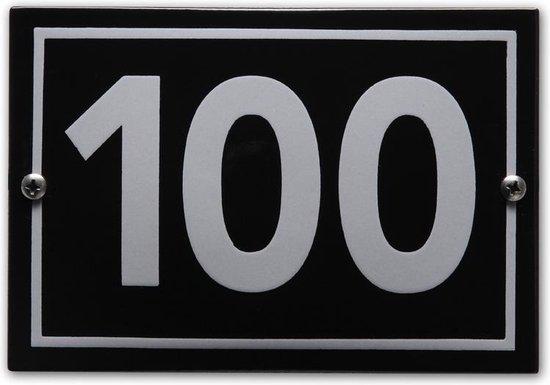 Huisnummer model Phil nr. 100