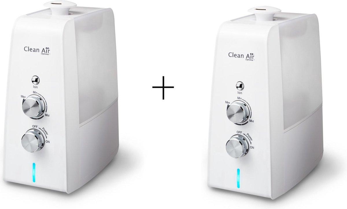 Clean Air Optima® 2 stuks CA-602 – Luchtbevochtiger met Ionisator