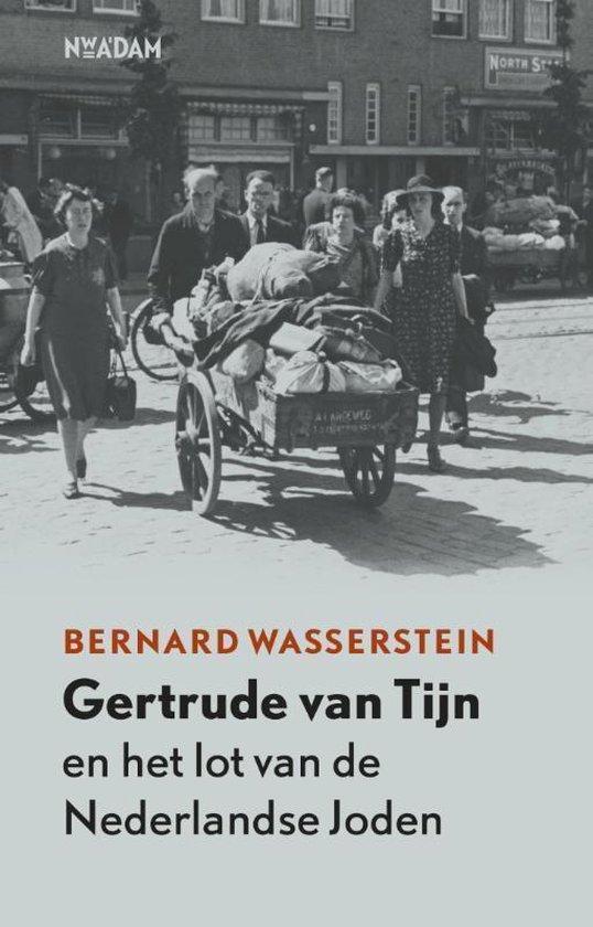 Cover van het boek 'Gertrude van Tijn en het lot van de Nederlandse Joden'