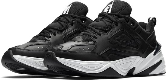 Nike M2K Tekno Sneakers Maat 45 Mannen zwartwit