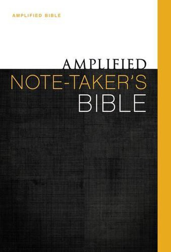 Amplified Note-takers Bible Colour HC - Diverse auteurs |