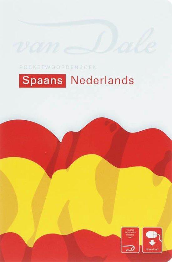Van Dale pocketwoordenboekSpaans - Nederlands - Johanna Vuyk-Bosdriesz  
