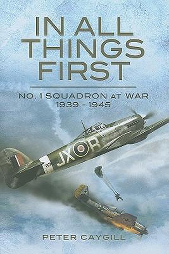 Boek cover In All Things First van Peter Caygill (Hardcover)