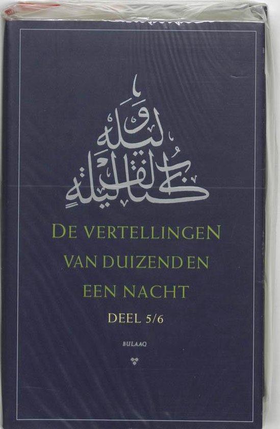 Boek cover De vertellingen van duizend-en-een-nacht, dl. 5/6 van Richard van Leeuwen (Hardcover)