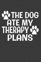 The Dog Ate My Therapy Plans