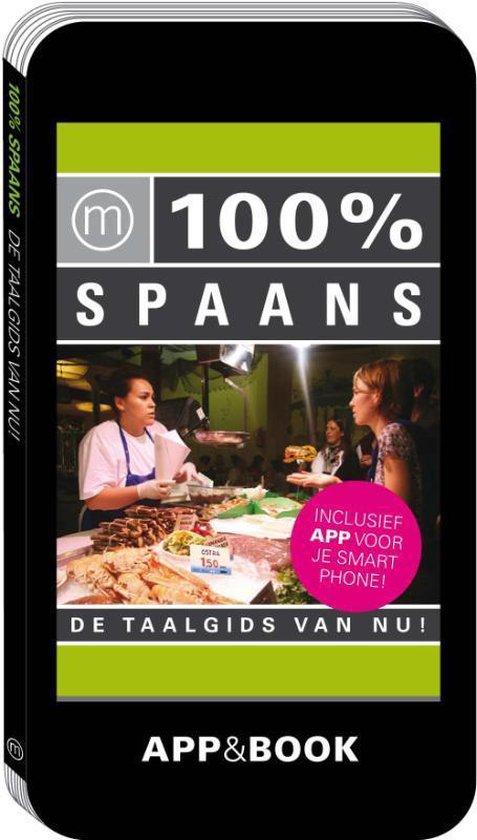 Cover van het boek '100% Spaans' van  Nvt