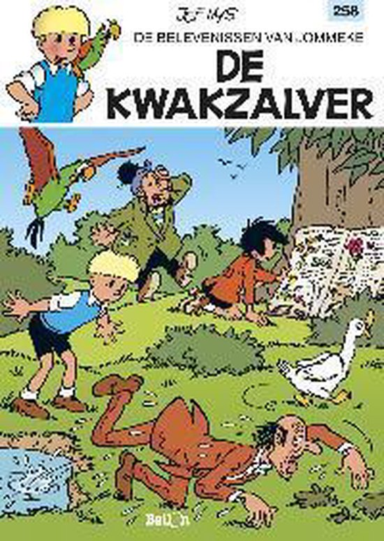 Jommeke 258 - De Kwakzalver - Philippe Delzenne | Readingchampions.org.uk