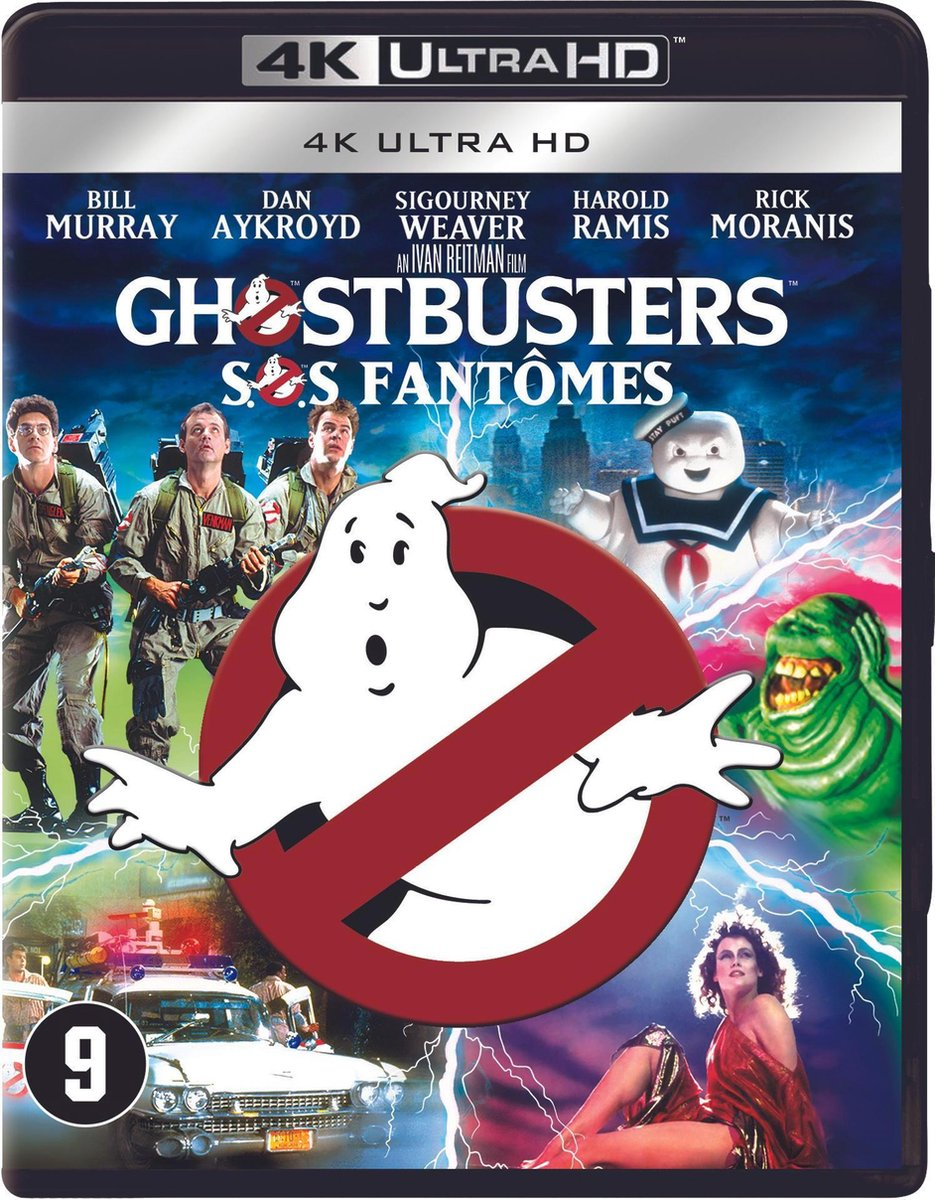 Ghostbusters (4K Ultra HD Blu-ray)-