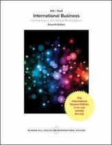 Boek cover International Business 11e ed van Charles W. L. Hill (Paperback)