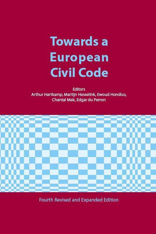 Ars Aequi Cahiers - Towards a European Civl Code - none |