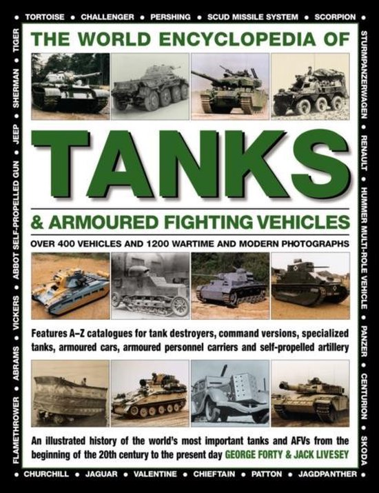Boek cover World Encyclopedia of Tanks & Armoured Fighting Vehicles van Forty George (Hardcover)