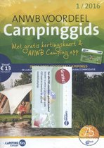 ANWB campinggids - Europa 2016 set 1 en 2
