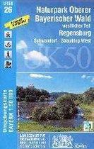 NP Oberer Bayerischer Wald (UK50-26) westlicher Teil. Regensburg
