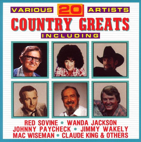 20 Country Greats [Hollywood/Deluxe]