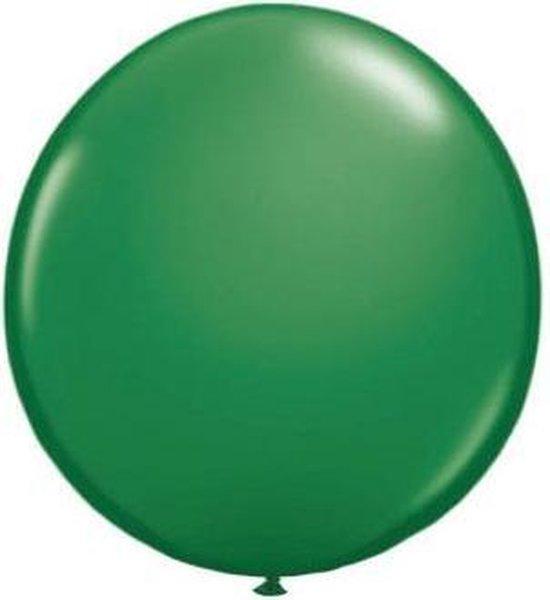 Qualatex ballon 90 cm groen