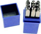 DW4Trading® Slagcijfers set 0 t/m 9 hoogte 5 mm 10 delig