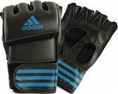 Adidas Grappling Training Handschoenen Zwart/Blauw-L