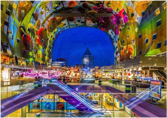 Rotterdam by Night Ansichtkaarten - 6 stuks | MS Fotografie