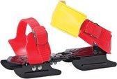 Afbeelding van Zandstra Bob Glij-ijzers DeLuxe Junior - Verstelbaar - One Size - Rood
