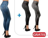 Slim Jeggings L/XL|Slimming stretch legging/Legging/Jegging/set van 3