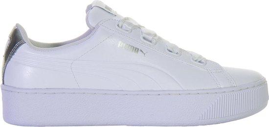 Puma Vikky Platform Sneakers - Maat 40.5 - Vrouwen - wit