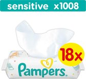 Pampers Sensitive Billendoekjes - 1008 Stuks