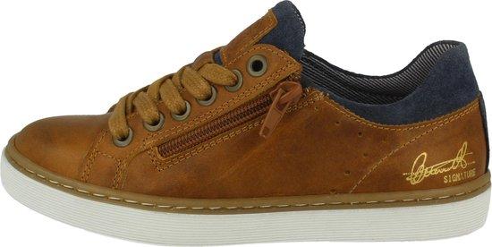 Bullboxer Ahm024E5L_ Sneaker Kids Tan/Cognac 39