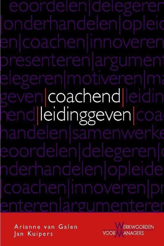 Cover van het boek 'Coachend leidinggeven'